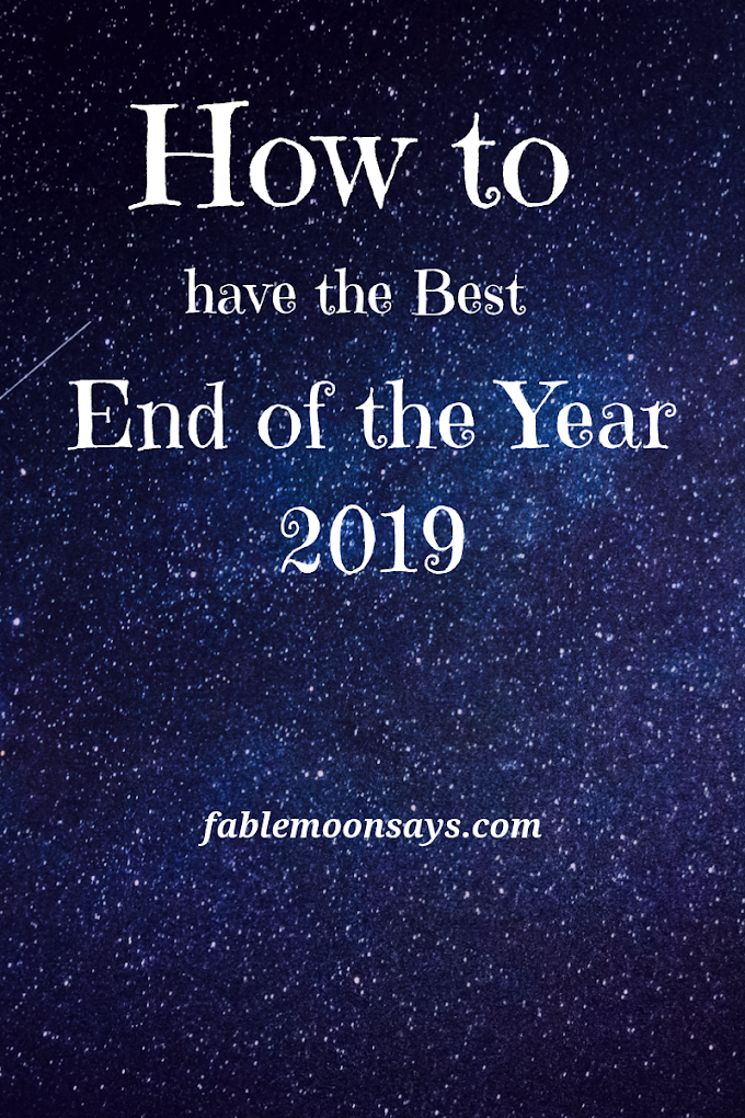 How to Have the Best End of the Year