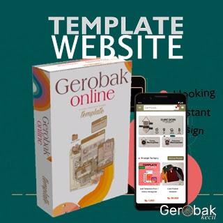 Jual Template Website Online Shop