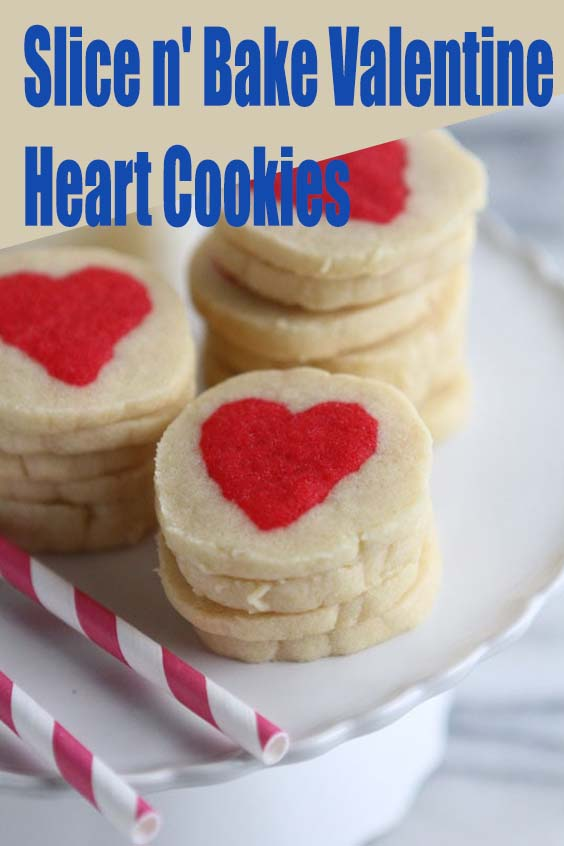 Slice n' Bake Valentine Heart Cookies