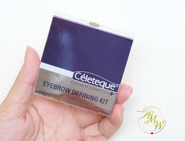 a photo of Celeteque DermoCosmetics+ Eyebrow Defining KIT Review