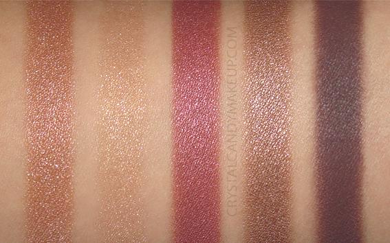 Palettes Fards Paupières 5 Couleurs Couture Dior 689 Mitzah Avis Revue Swatch