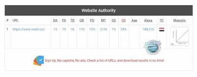 الدومين اثورتي Domain Authority والبيج اثورتي Page Authority