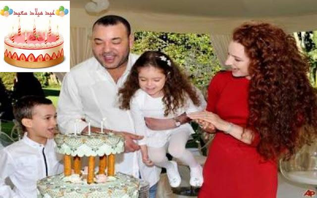 عيد ميلاد سعيد صاحبة السمو الملكي الاميرة لالة خديجة جوهرة القصر الملكي