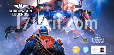 لعبة shadowgun Legends الحربية: