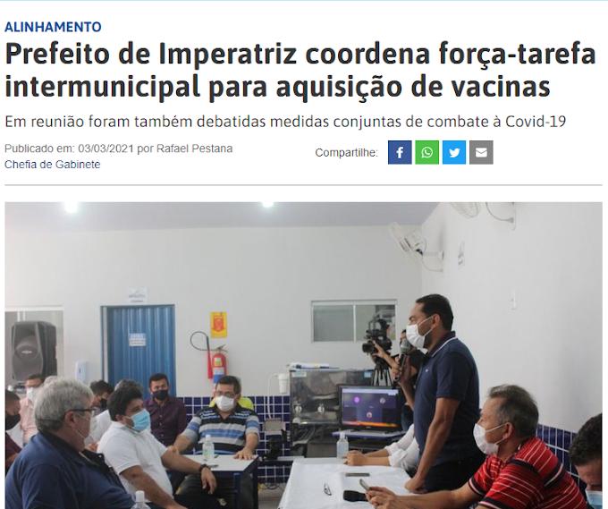 """Assis Ramos abandona """"Força Tarefa"""" para aquisição de vacinas"""