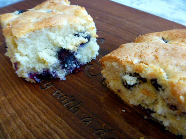 Buttermilk Blueberry Breakfast Cake - Perfect for Easter Brunch or a weekend breakfast - Slice of Southern