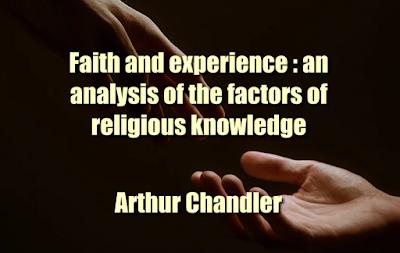 Faith and experience