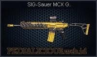 SIG-Sauer MCX Gold