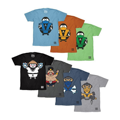 Mortal Kombat T-Shirt Collection by Johnny Cupcakes