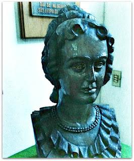 Busto da Imperatriz Leopoldina no Museu Histórico de São Leopoldo