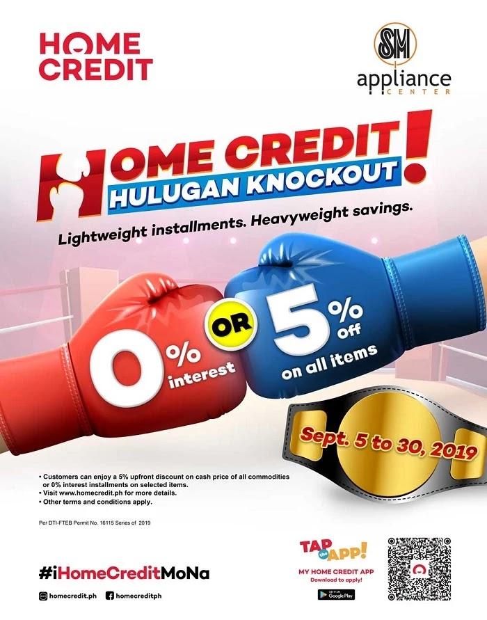Home Credit Hulugan Knockout Promo