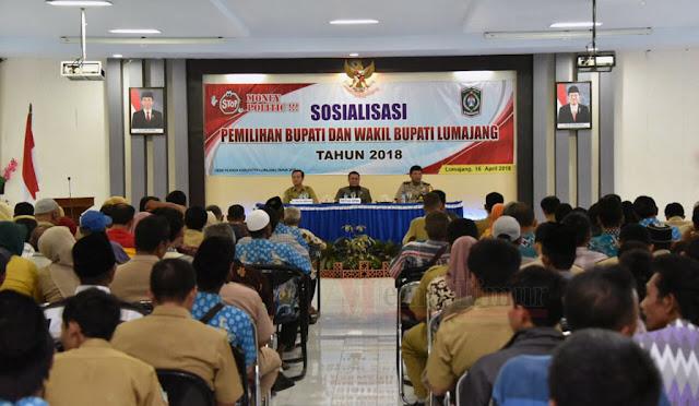 Sosialisasi Pilkada Lumajang 2018