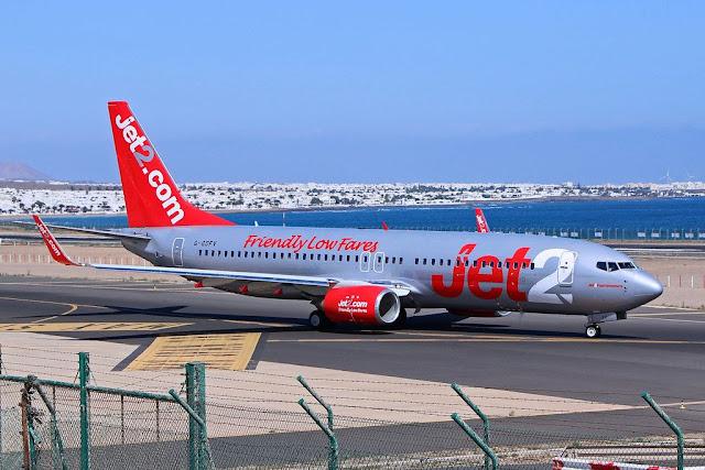 avion%2Bjet2.2 - Jet2 suspende operaciones con España afectando 23 vuelos semanales con Fuerteventura