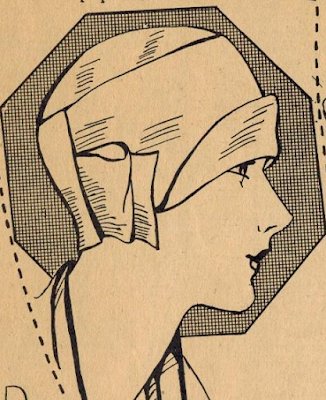 The Vintage Pattern Files:  Free 1920's Sewing Pattern - Ruth Wyeth Spear's Cloche