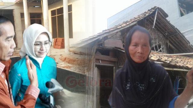 Ironi Airin Bangun Rumah Dinas Mewah saat Tetangganya Hidup di Gubuk Reyot