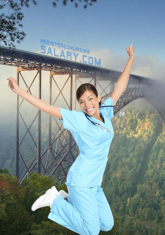 registered nurse salary in virginia