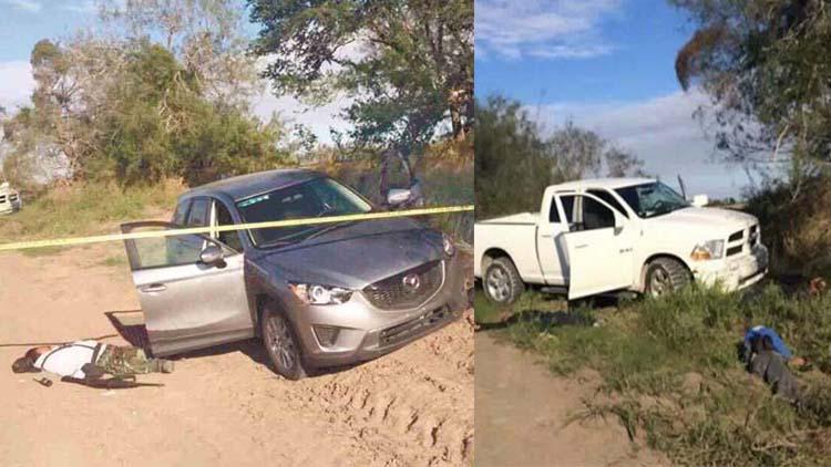 """Se dan """"topón"""" Zetas y Fuerzas Armadas en San Fernando, 5 sicarios son abatidos"""