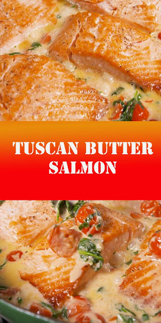TUSCAN BUTTER SALMON RECIPE