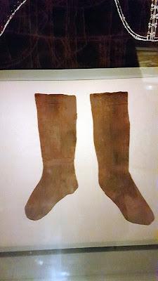 socks from Cosimo I in the palazzo pitti