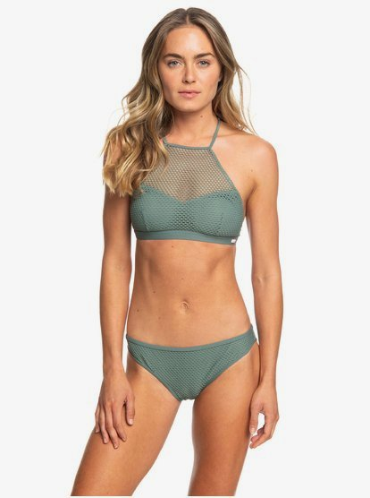 Garden Summers - Crop Top Bikini Set for Women