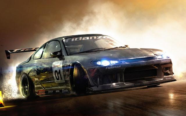 Neon-Black-Racing-Car-Wallpaper-Ultra-HD-4K