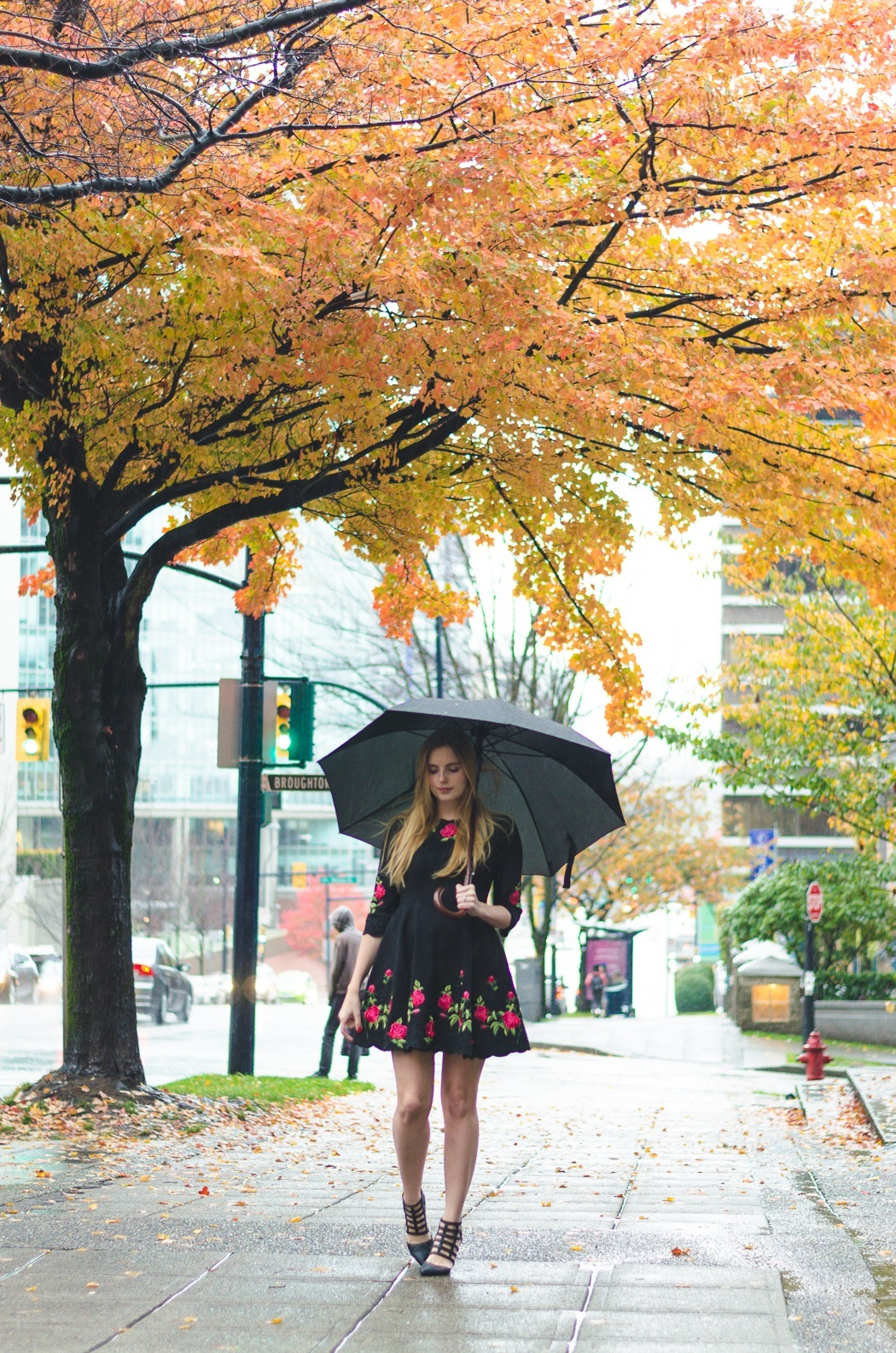 the urban umbrella style blog, vancouver style blog, vancouver style blogger, vancouver fashion blog, vancouver lifestyle blog, vancouver health blog, vancouver fitness blog, vancouver travel blog, canadian fashion blog, canadian style blog, canadian lifestyle blog, canadian health blog, canadian fitness blog, canadian travel blog, bree aylwin, how to style a summer dress in fall, the allure for rose chicwish dress, the prettiest fit and flare dress, best health blogs, best travel blogs, top fashion blogs, top style blogs, top lifestyle blogs, top fitness blogs, top health blogs, top travel blogs