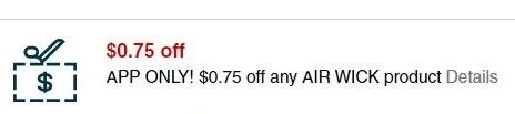 USE $0.75/1 Off NY Air Wick Product CVS crt store Coupon (Select CVS Couponers)