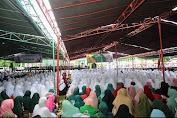 Lautan Manusia Padati Hadi NW ke 67 di Mataram