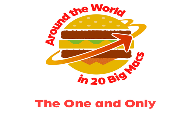 20 Big Macs all over the world #infographic