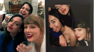 Taylor Swift and Selena Gomez enjoys girls night along with other friends