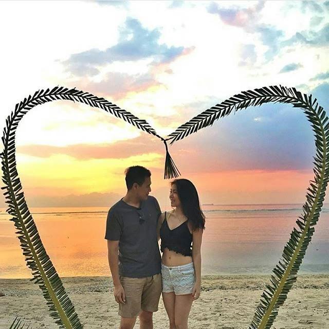 foto romantis di gili meno lombok