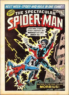 Spectacular Spider-Man Weekly #375, Morbius