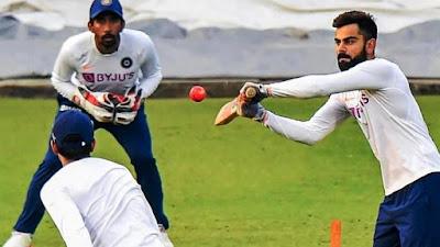 Virat Kohli Confronts Mohammed Shami during Dusk Before Day-night Test