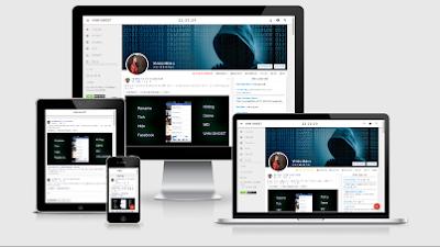 Share Theme Star Nhân IT đang dùng - Theme Siin Blog Google Plus
