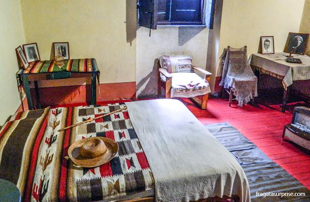 Quarto de Leon Trotski na casa da Calle Viena, Cidade do México