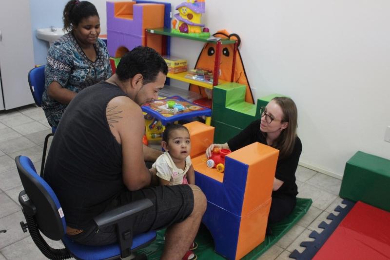 Atendimento em sala de entidade da capital construída com recursos de fundo de assistência social - Foto: Divulgação/SDSTJDH