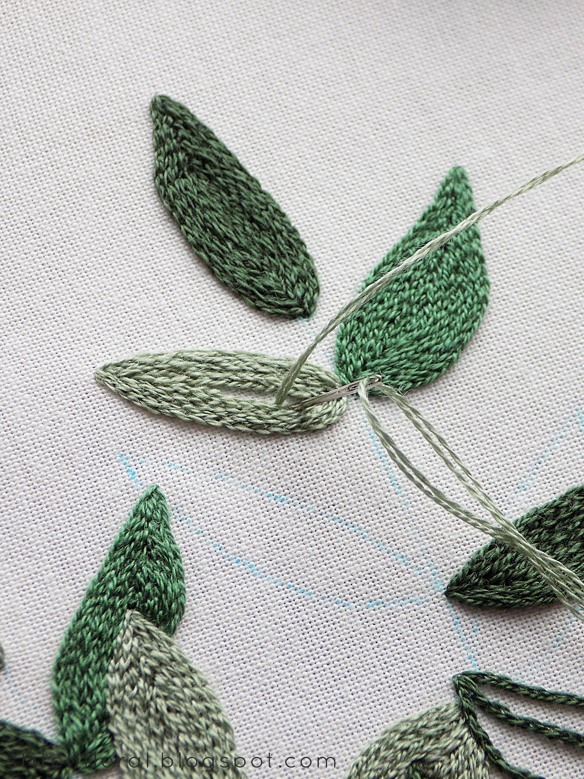 Hand Embroidery Stitches : embroidery, stitches, Basic, Stitches, Embroidery, Stitch, Floral