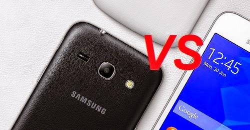 Samsung galaxy J1 VS Samsung galaxy Star 2 plus:Comparison