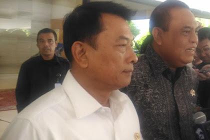 Moeldoko Sebut Rekonsiliasi Jokowi - Prabowo Tidak Penting Lagi, Semua Sudah Selesai