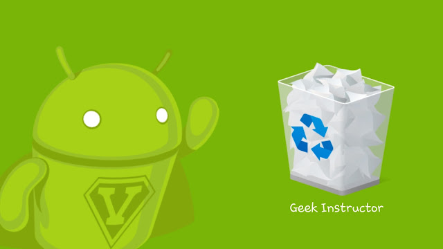Add recycle bin on Android phone
