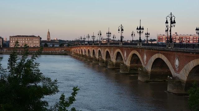 Bordeaux river bridge