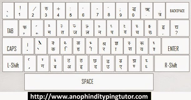 √ Keyboard Hindi Typing Chart Pdf File Download   Keyboard
