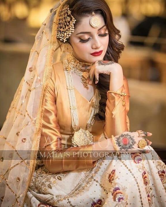 Alizeh Shah Bridal Makeup