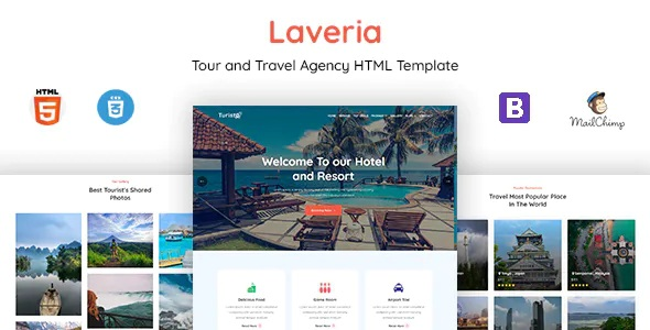 Best Tour & Travel Agency Template