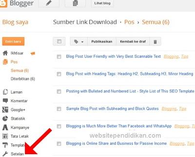 Cara Termudah Membuat Deskripsi Blog di Blogger Blogspot