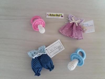 Decoração de bebe cha de fralda  Amigurumi