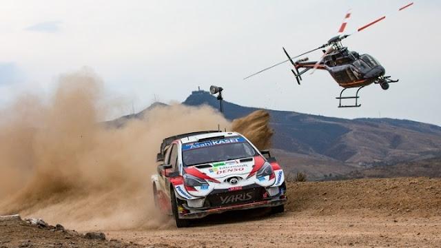 Το Ράλλυ Ακρόπολις στους αναπληρωματικούς αγώνες του WRC