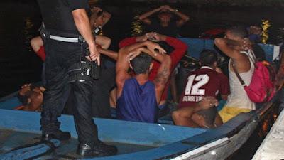 venezolanos detenidos intentando entrar a Trinidad y Tobago