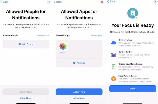 Cara Menggunakan Focus Mode di iPhone iOS 15-2