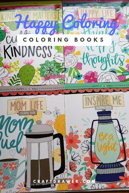 Happy Coloring Books to Help with stress and relaxation